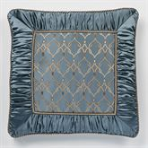 Castleton European Pillow with Sham Steel Blue