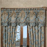 Castleton Scalloped Valance Steel Blue 72 x 20