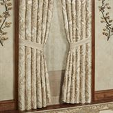 Albany Wide Tailored Curtain Pair Champagne