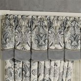Odesa Scalloped Valance Oyster 72 x 18