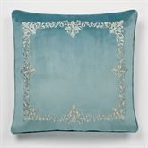 Lansbury Embroidered European Sham Only Teal
