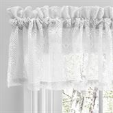 Millington Lace Tailored Valance 52 x 12