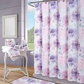 Ashleigh Shower Curtain Multi Pastel 70 x 72