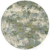 Absalom Round Rug Blue/Green 710 Round