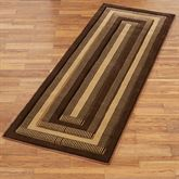 Park Place Rug Runner Brown 27 x 74