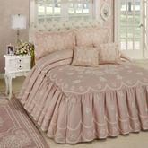 Primrose Grande Bedspread Set Dusty Rose