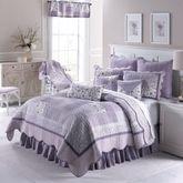 Lavender Garden Patchwork Quilt