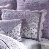 Lavender Garden Patchwork Quilted Sham Standard