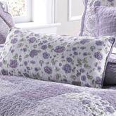 Lavender Garden Piped Pillow Rectangle