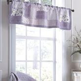 Lavender Garden Patchwork Tailored Valance 56 x 15