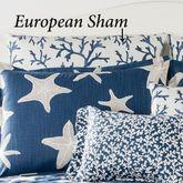 Palm Beach Tailored European Sham Dark Blue