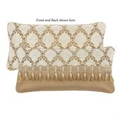 Julius Reversible Rectangle Pillow Multi Warm