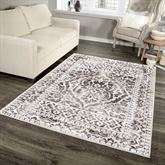 Leicester Rectangle Rug Off White