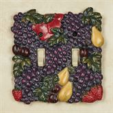 Tuscan Fruit Double Switch Multi Jewel