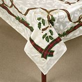 Lenox Holiday Nouveau Oblong Tablecloth Off White