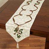 Lenox Holiday Nouveau Table Runner Off White 14 x 90