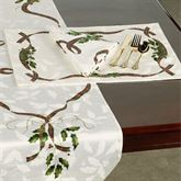 Lenox Holiday Nouveau Placemats Off White Set of Four