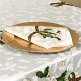 Lenox Holiday Nouveau Napkins Off White Set of Four