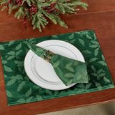 Lenox Holly Damask Placemats Set of Four