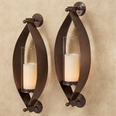 Xander Wall Sconce Pair Antique Copper