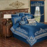 Buckingham Comforter Set Sapphire
