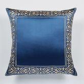 Buckingham European Pillow with Sham Sapphire