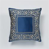 Buckingham Tailored Pillow Sapphire 18 Square