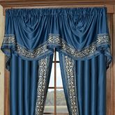 Buckingham Empire Valance Sapphire 110 x 28