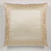 Versailles European Pillow with Sham Pearl