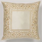 Versailles Tailored Pillow Pearl 18 Square