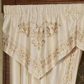 Versailles Ascot Valance Pearl 32 x 22