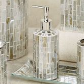 Imogen Lotion Soap Dispenser Silver