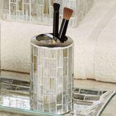 Imogen Brush Holder Silver