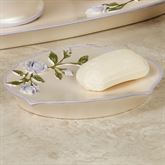 Enchanted Rose Soap Dish Lavender