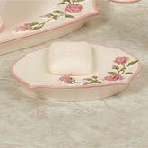Bridal Rose Soap Dish Blush