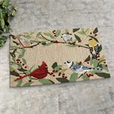 Bird Border Rectangle Mat Multi Bright