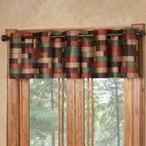 Emerson Wide Grommet Valance Multi Warm 76 x 18