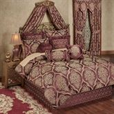 Laurelton Comforter Set Wine