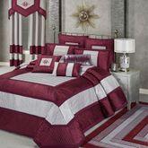 Sigma Grande Bedspread Burgundy