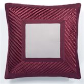 Sigma European Pillow with Sham Burgundy