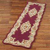 Celia Rose Aubusson Rug Runner 23 x 8
