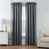 Trento Wide Curtain Pair Steel Blue 100 x 84