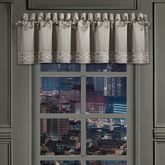 Deco Tailored Valance Silver 88 x 21
