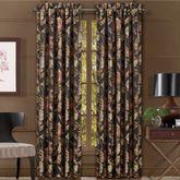 Martinique Wide Curtain Pair Black 100 x 84
