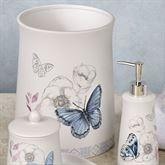 In the Garden Butterfly Wastebasket Multi Pastel