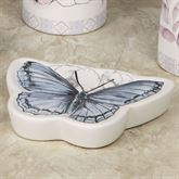 In the Garden Butterfly Soap Dish Multi Pastel