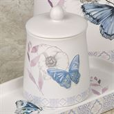 In the Garden Butterfly Covered Jar Multi Pastel