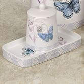 In the Garden Butterfly Tray Multi Pastel