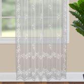 Floral Estate Lace Curtain Panel