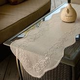 Floral Estate Lace Table Runner